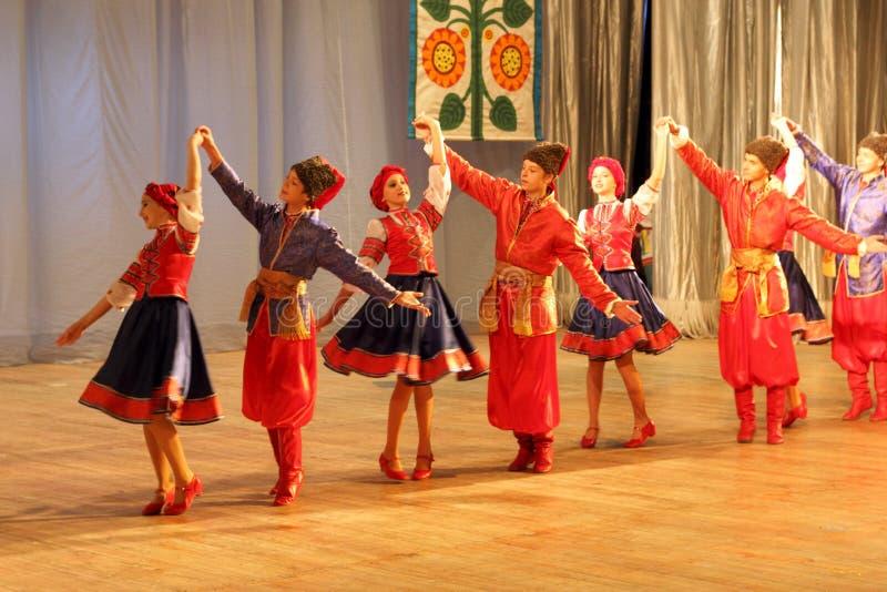 Danza Popular Ucraniana Foto Editorial. Imagen De Para