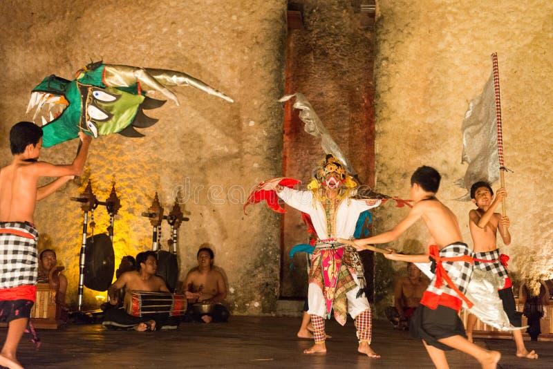Danza tradicional de Bali imagenes de archivo