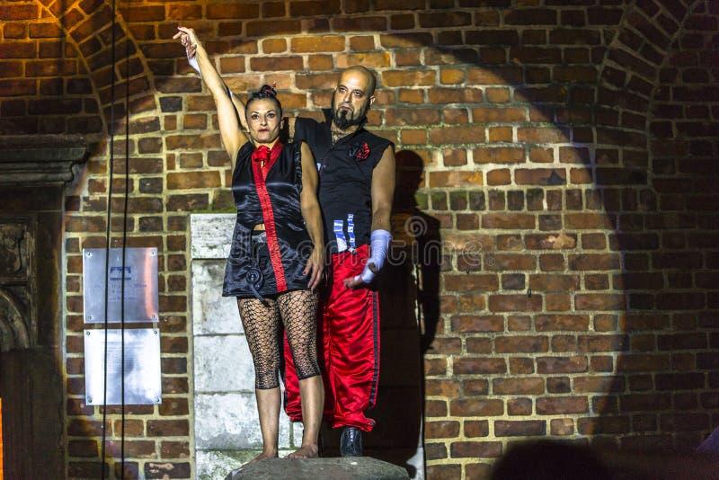 Download Danza Vertical Del Teatro De La Calle Imagen editorial - Imagen de each, festival: 42441775