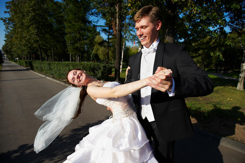 Danza Wedding imagen de archivo libre de regalías