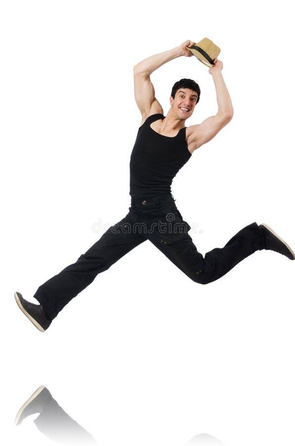 Download Danzas Del Baile Del Bailarín Aisladas Foto de archivo - Imagen de aeróbicos, salto: 41917924