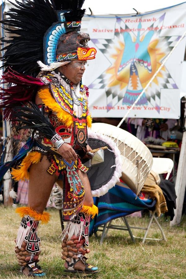 Danzatore azteco fotografie stock libere da diritti