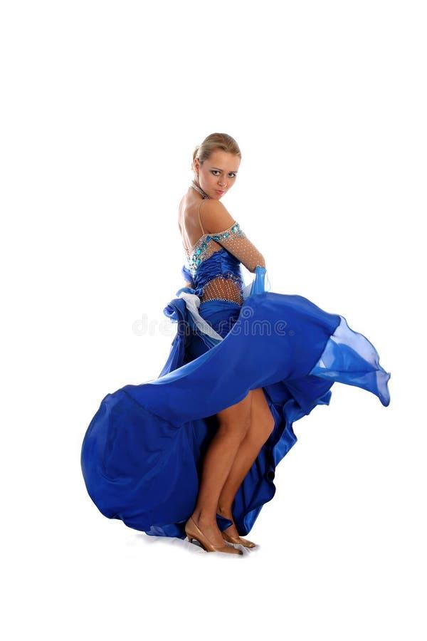 Danzatore biondo fotografie stock