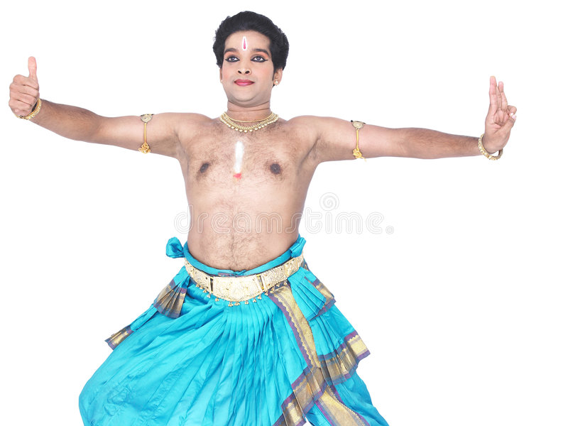 Danzatore classico maschio dall'Asia immagine stock libera da diritti