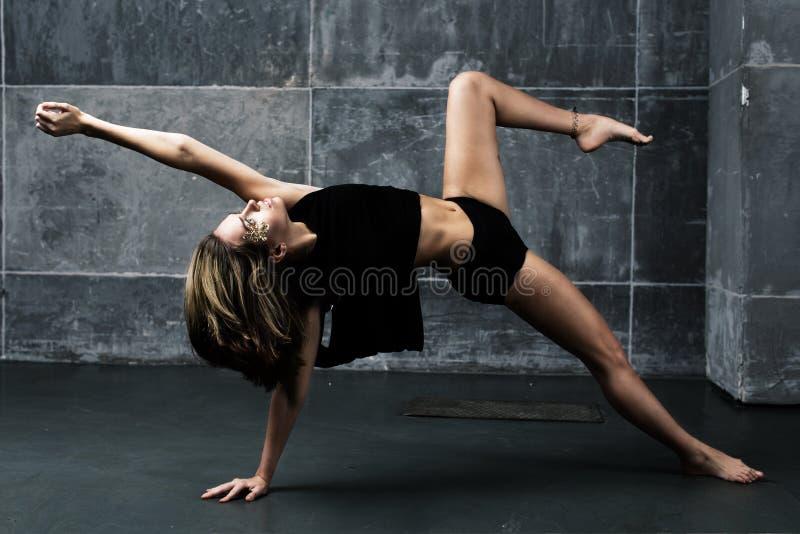 Danzatore contemporaneo fotografia stock
