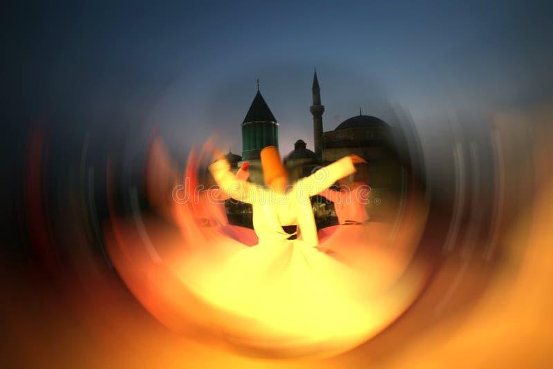 Danzatore dei Dervishes fotografie stock libere da diritti