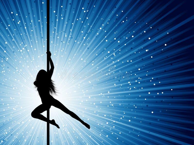 Danzatore del Palo royalty illustrazione gratis