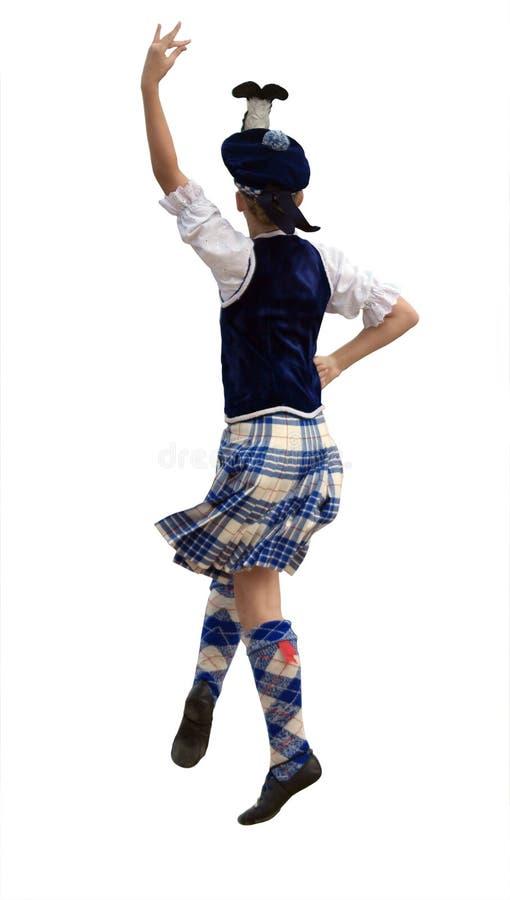 Danzatore dell'altopiano fotografia stock libera da diritti
