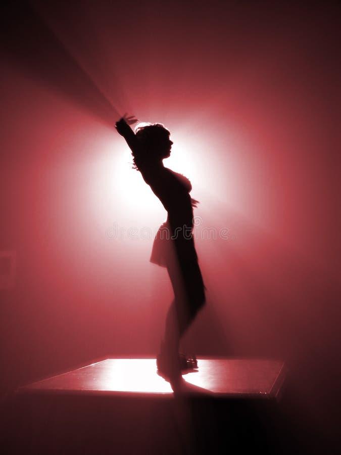 Danzatore della discoteca immagine stock libera da diritti