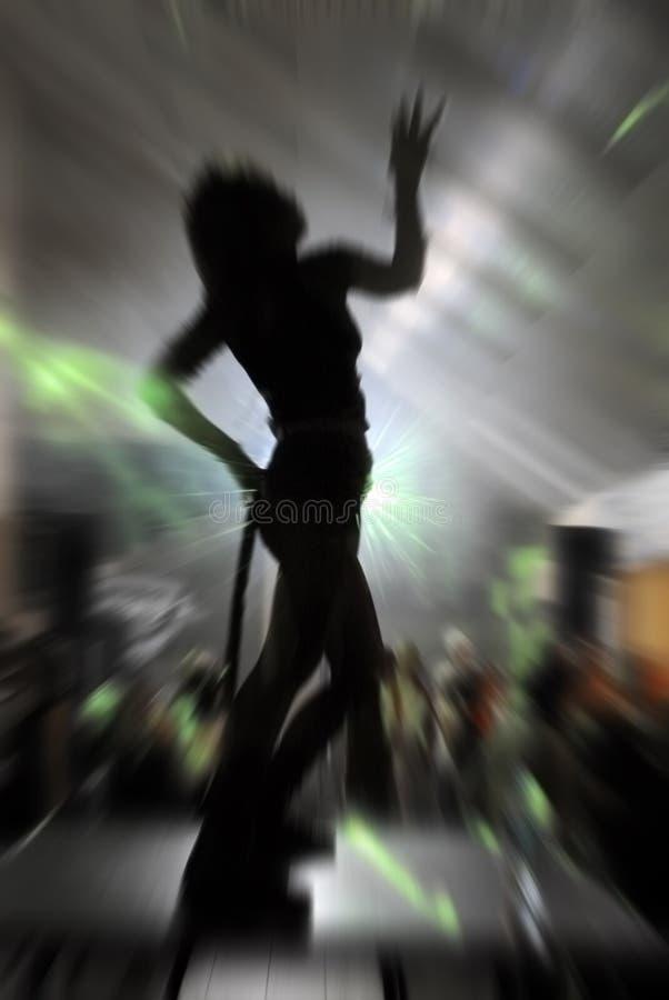 Danzatore della discoteca fotografia stock