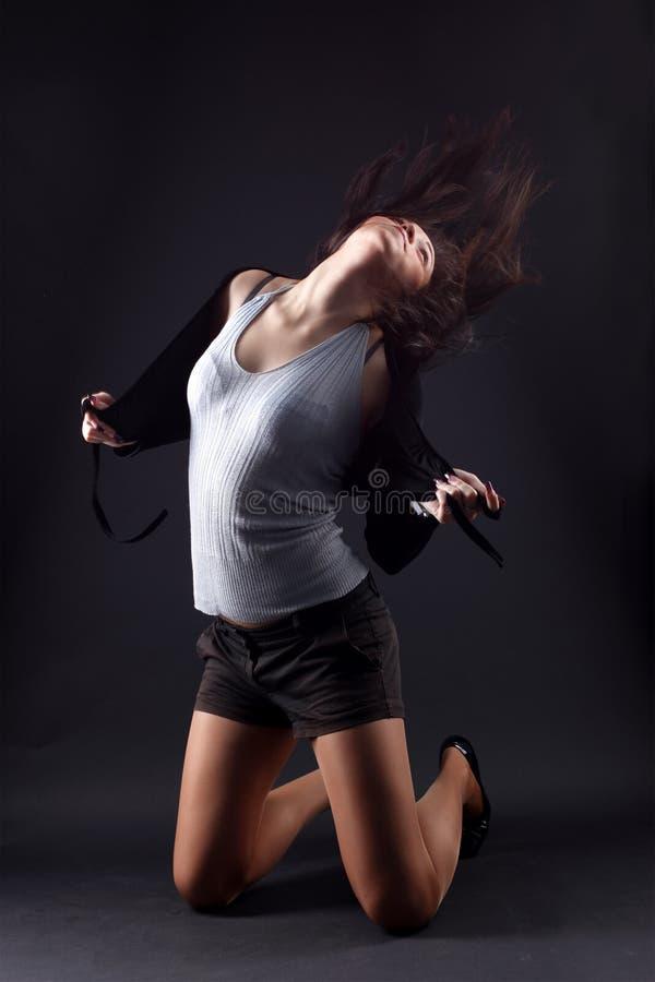 Danzatore della donna di RnB immagini stock libere da diritti