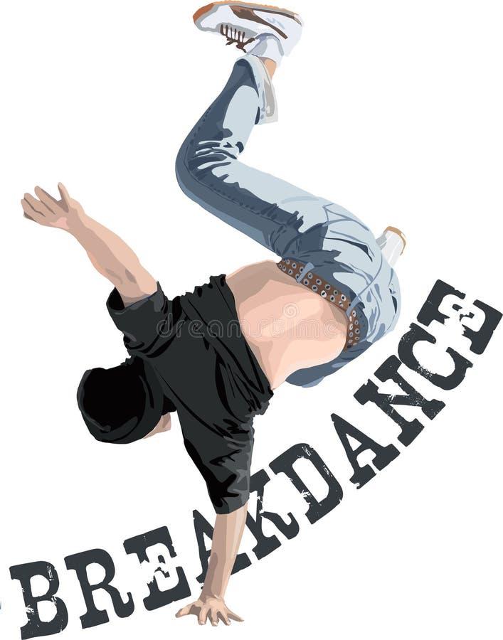 Danzatore della rottura royalty illustrazione gratis