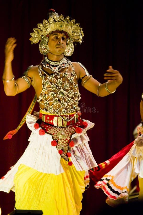Danzatore dello Sri Lanka tradizionale immagini stock