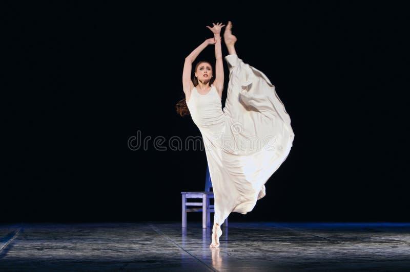 Danzatore di balletto fotografie stock