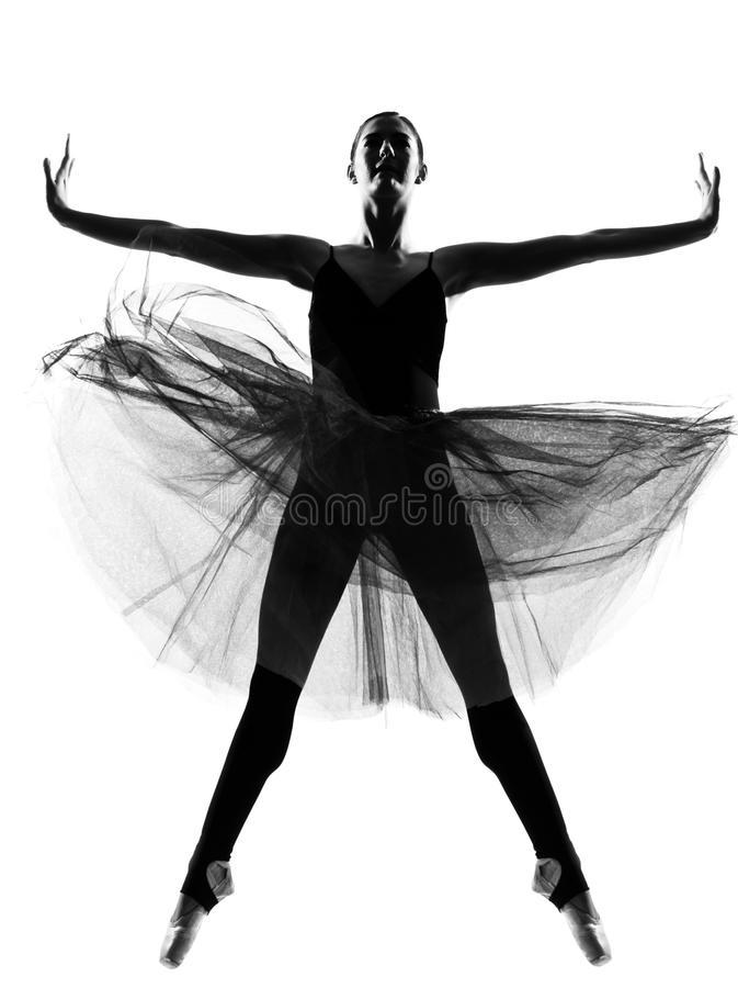 Danzatore di balletto della donna immagini stock libere da diritti
