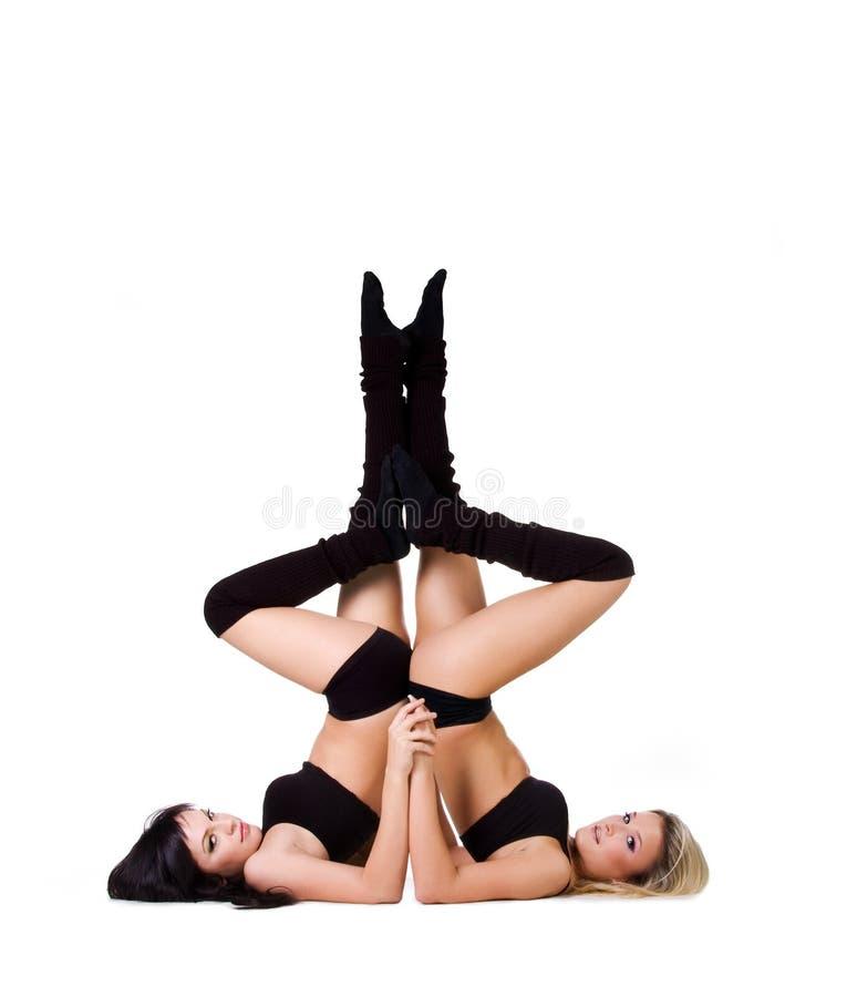 Danzatore di balletto moderno immagini stock libere da diritti