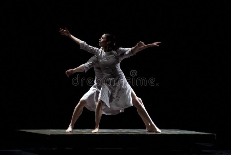 Danzatore di balletto moderno fotografie stock
