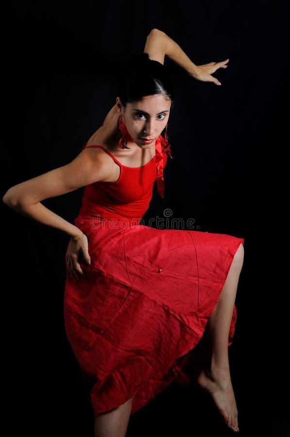 Danzatore di flamenco fotografie stock