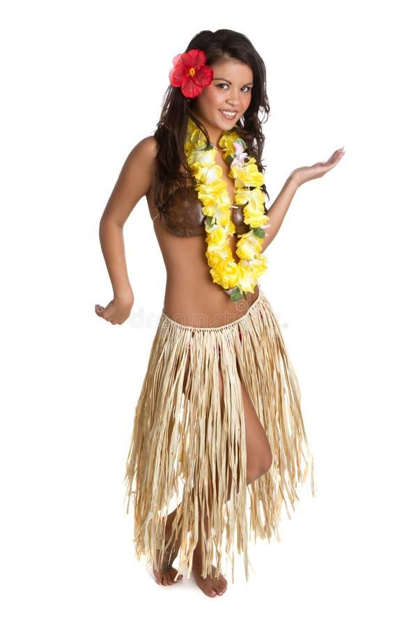 Danzatore di Hula immagini stock