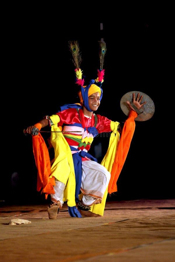 Danzatore di Manipuri fotografie stock