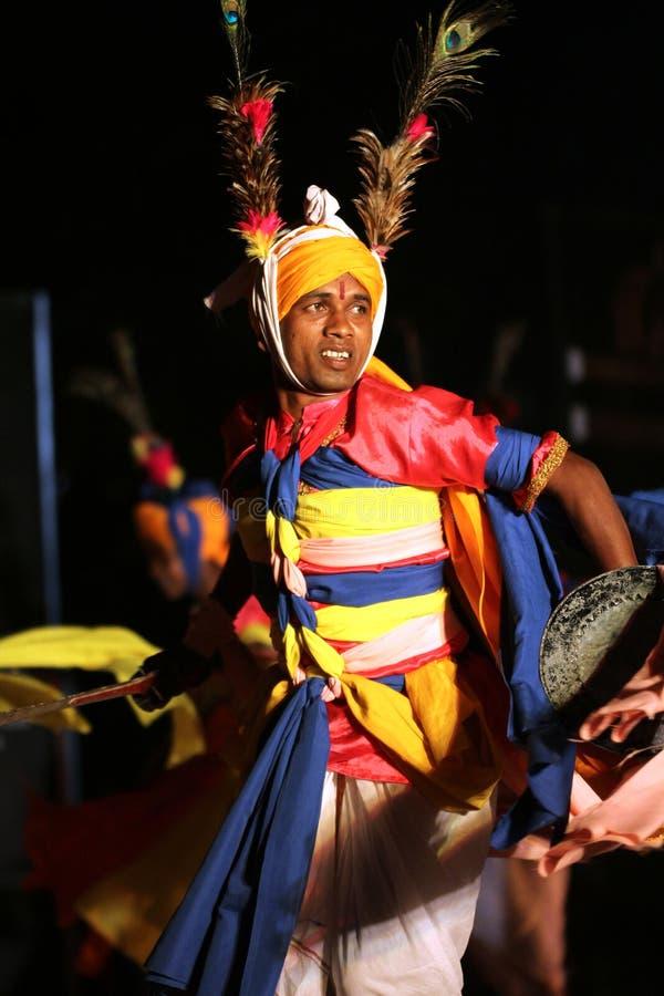 Danzatore di Manipuri immagine stock libera da diritti
