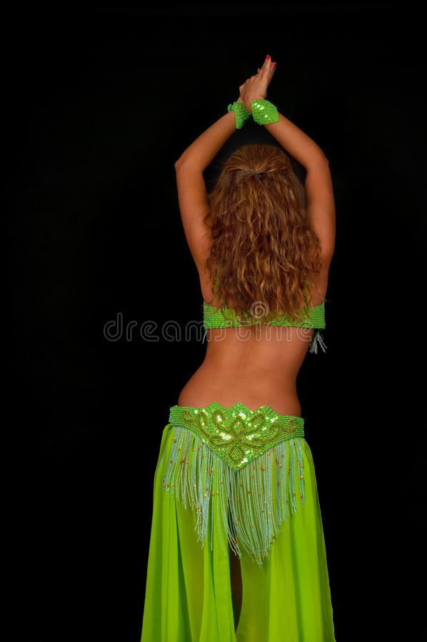 Danzatore di pancia immagine stock
