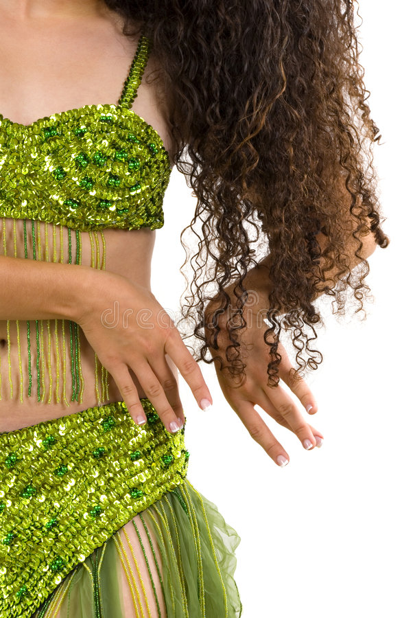 Danzatore di pancia fotografie stock libere da diritti