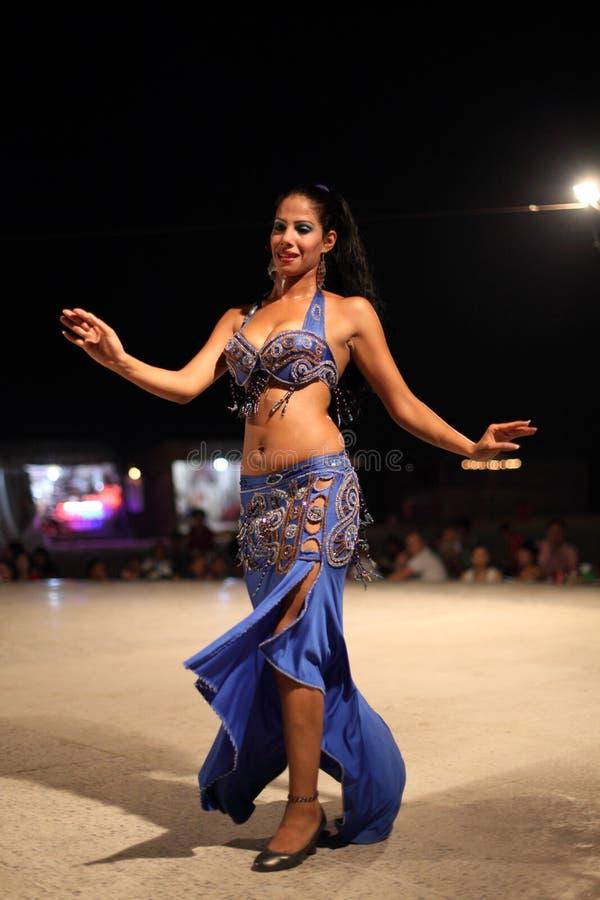 Danzatore di pancia egiziano immagine stock libera da diritti