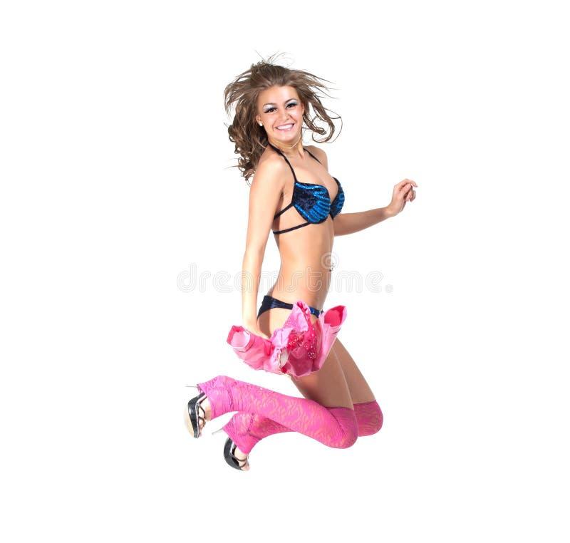 Danzatore di salto immagine stock