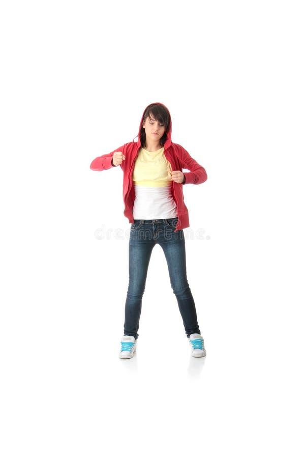 Danzatore di schiocco dei giovani immagine stock