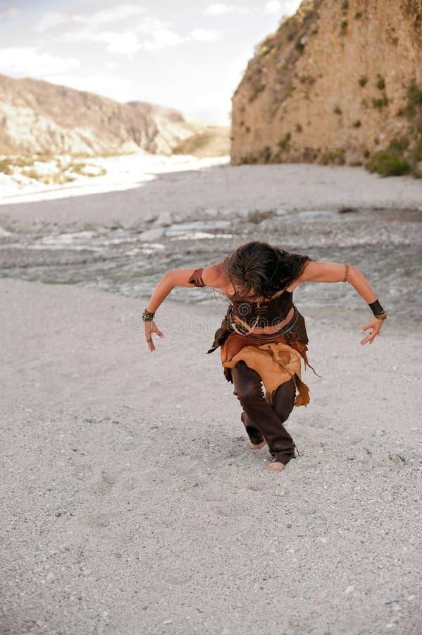 Danzatore di spirito fotografie stock libere da diritti