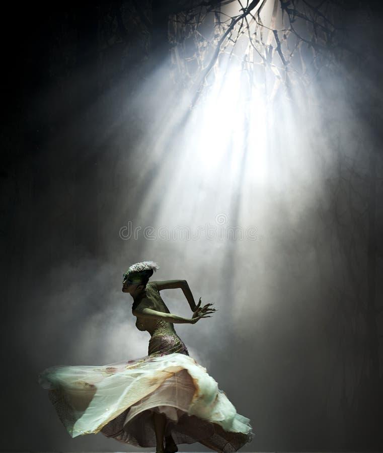 Danzatore famoso Yang Liping del cinese fotografie stock