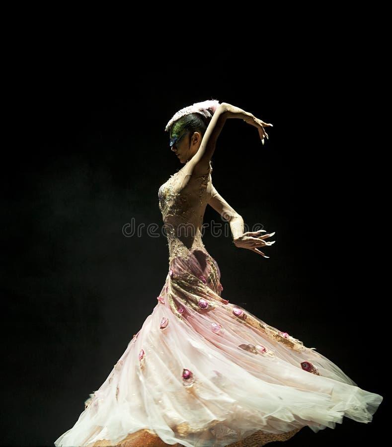 Danzatore famoso Yang Liping del cinese fotografia stock