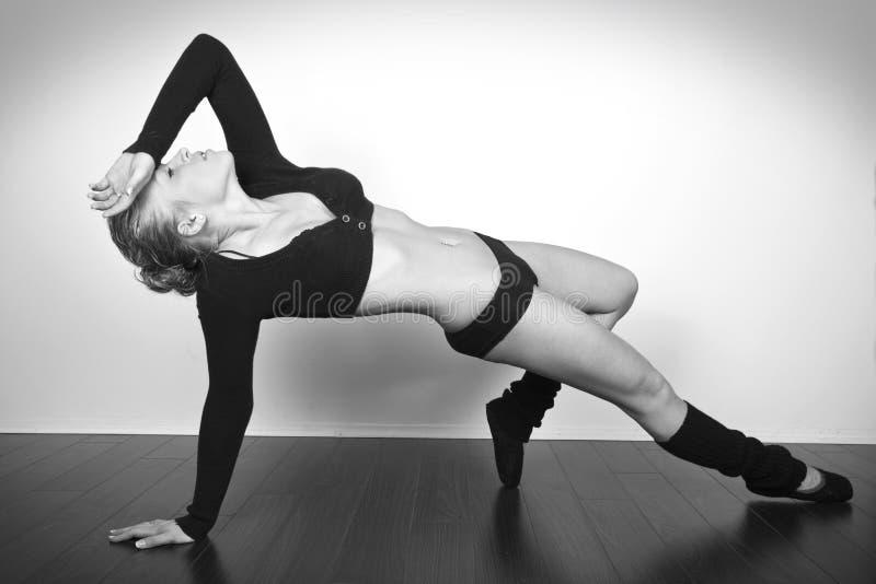 Danzatore grazioso fotografia stock libera da diritti