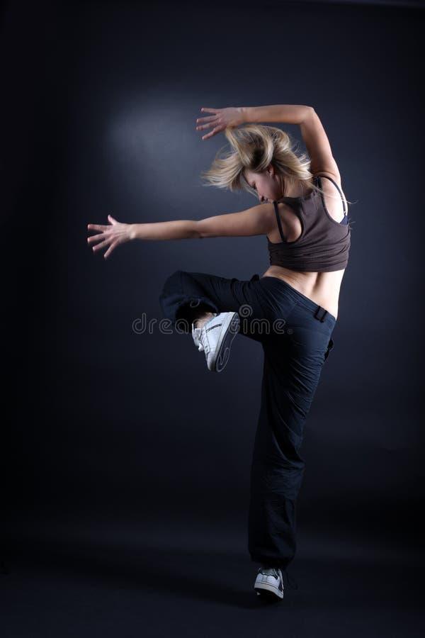 Danzatore moderno della donna immagini stock