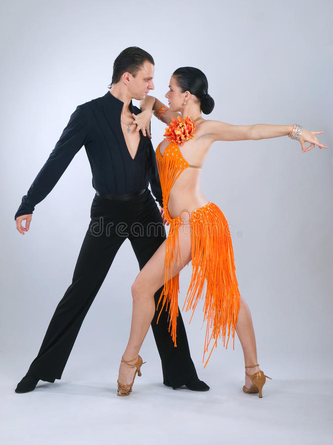 Danzatori immagine stock libera da diritti