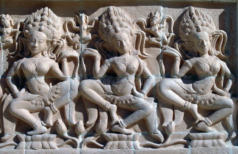 Danzatori dall'India immagine stock libera da diritti
