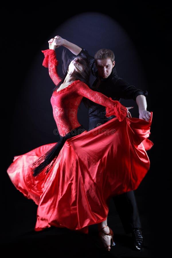 Danzatori del Latino fotografia stock libera da diritti