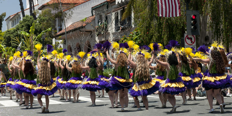 Danzatori di parata di Solstice