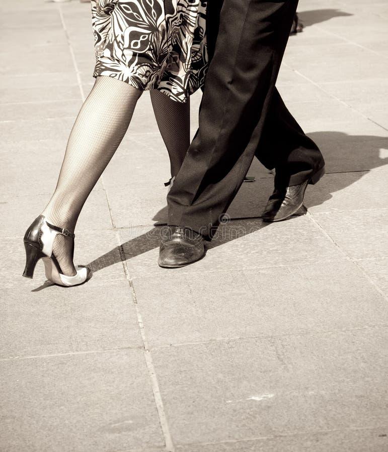 Danzatori di tango immagine stock libera da diritti