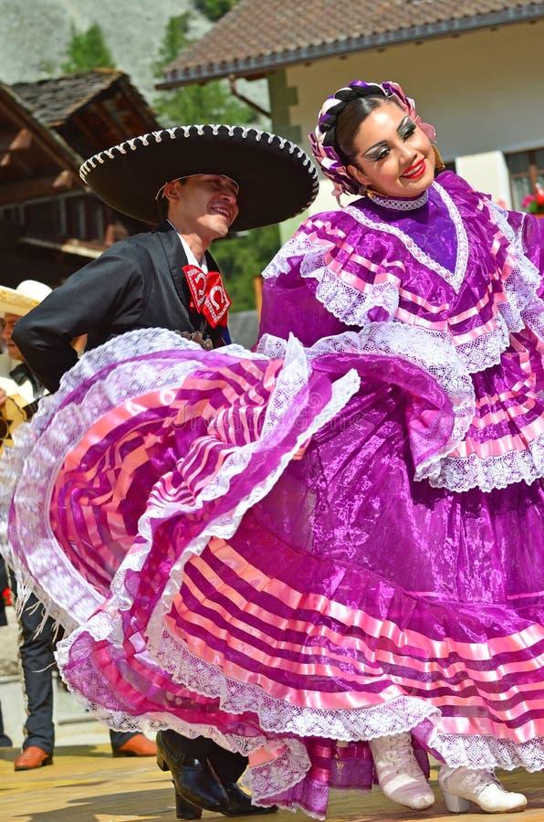 Danzatori messicani fotografia stock libera da diritti