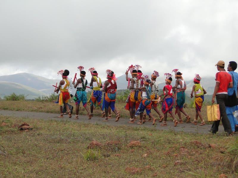 Danzatori tribali immagini stock