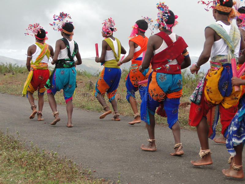 Danzatori tribali fotografia stock libera da diritti
