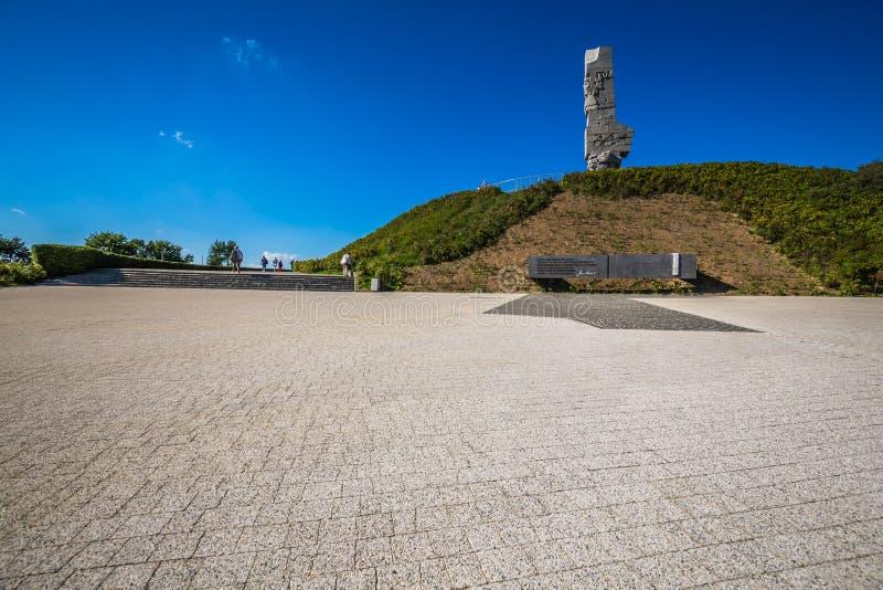 Danzica, Polonia-settembre 19,2015: Gli ospiti sono informati circa gli atti immagini stock