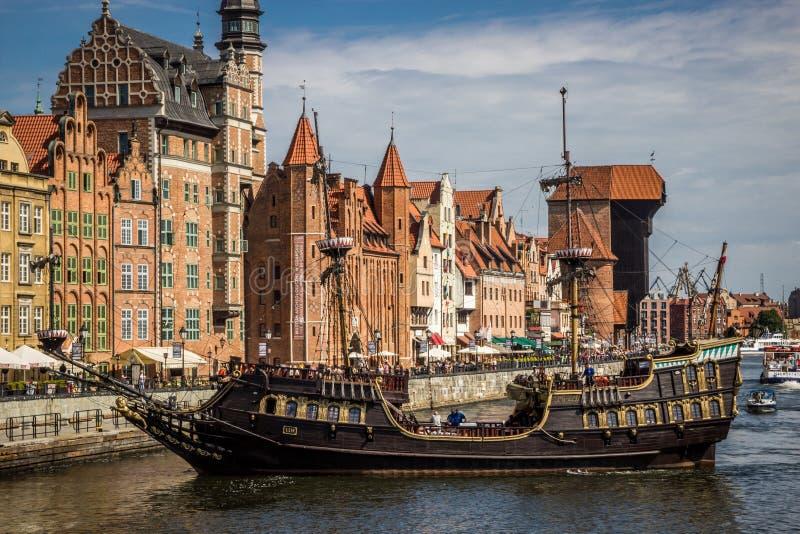 Danzig, Pologne images libres de droits