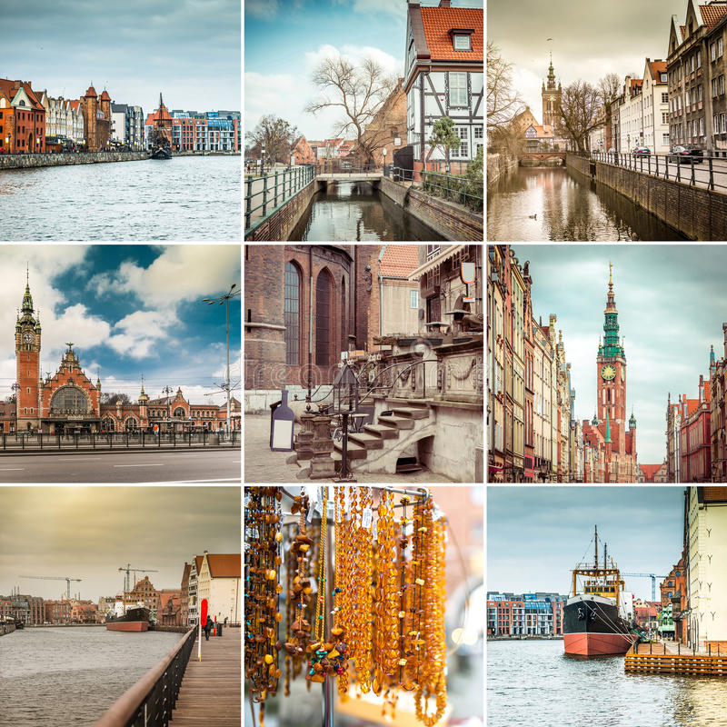 Danzig Pologne images stock