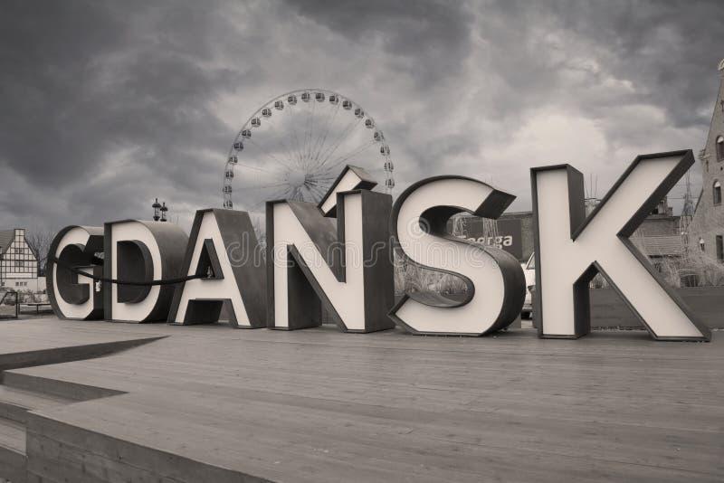 Danzig, Pologne, l'Europe photos libres de droits