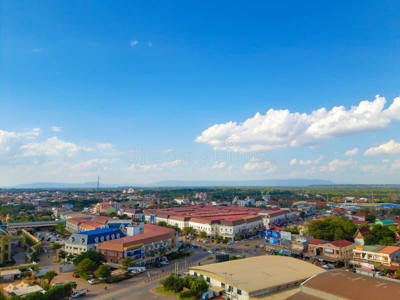 Dao Heung market. Dao Hueng Market in Pakse district Champasak province Laos stock photo