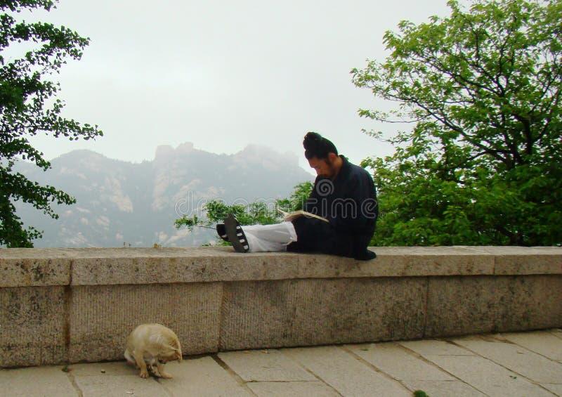 Daoist dagligt liv arkivbild