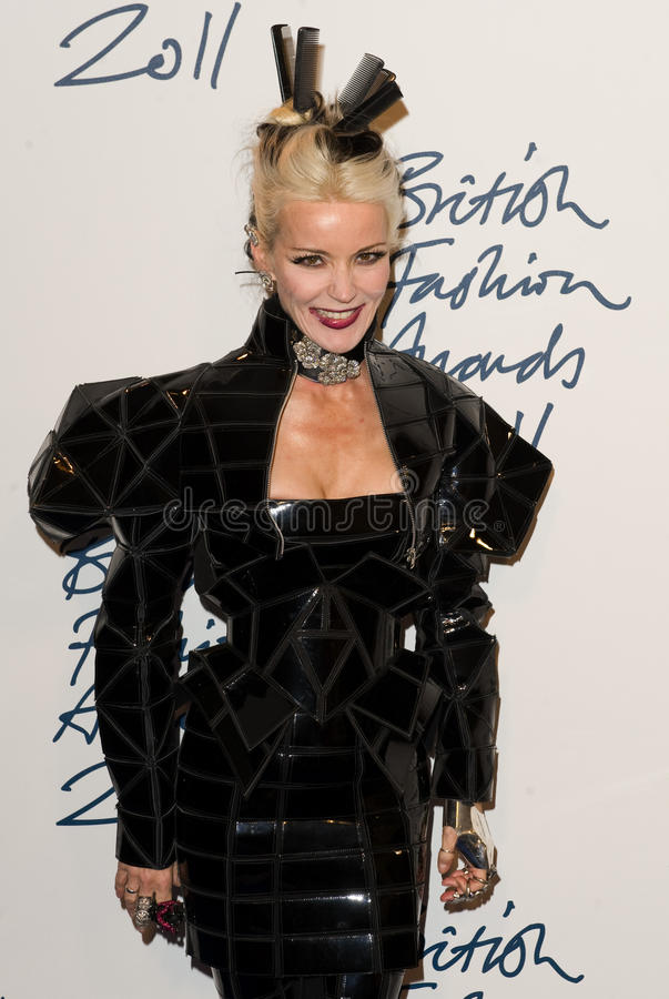 Download Daphne Guinness editorial stock image. Image of burchell - 22467449